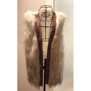 XHILARATION®️ fur vest